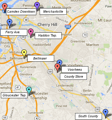 Camden County Library System Locations