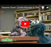 Cookie Monster wants to check out cookies!