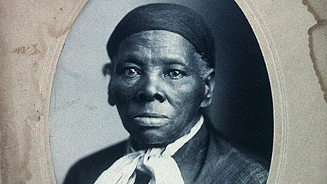 Harriet Tubman, subject of special story times at Camden County Library in February (kids National Geographic photo)