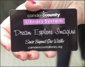 Get a Camden County Library Card