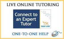 Get live one-on-one tutoring