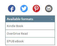 Overdrive eBook formats