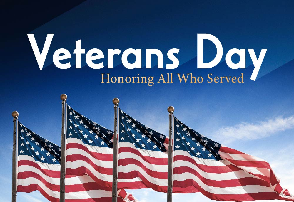 Veteran's Day: Honoring All Who Served